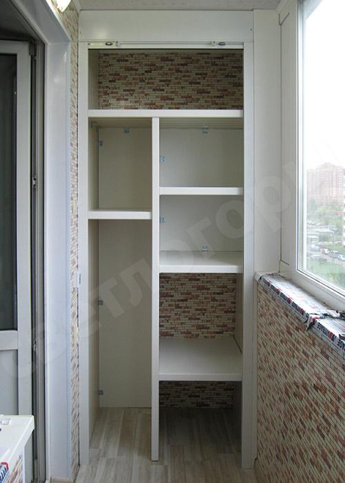 Модели шкафов на балкон..