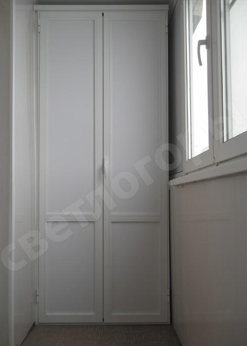 Фотогалерея: шкафы из пвх с алюминиевым фасадом.