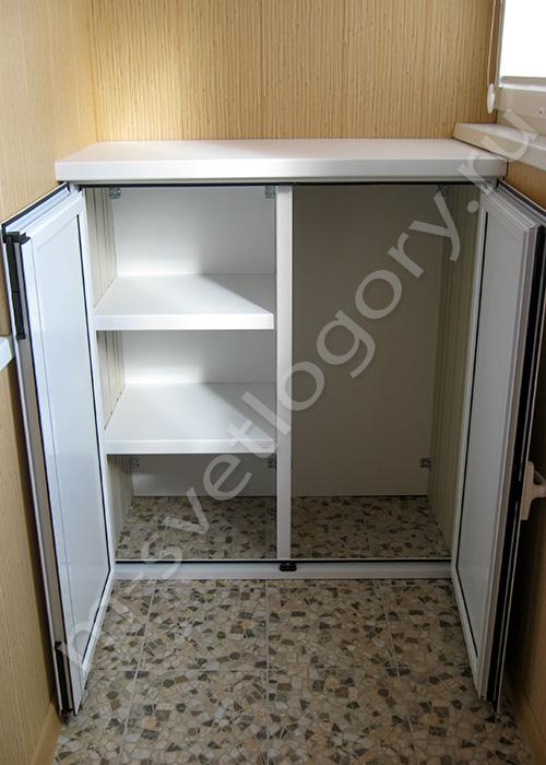 Шкаф для балкона100х240. - остекление - каталог статей - рем.