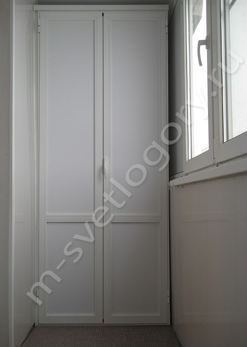 Шкаф распашной лдсп на балкон. - наши работы - каталог стате.