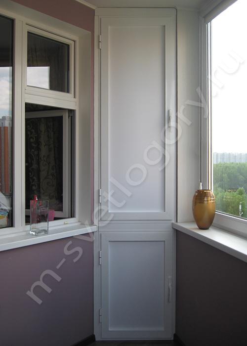 Шкаф на балкон тип дома п 44. - дизайн маленьких лоджий - ка.