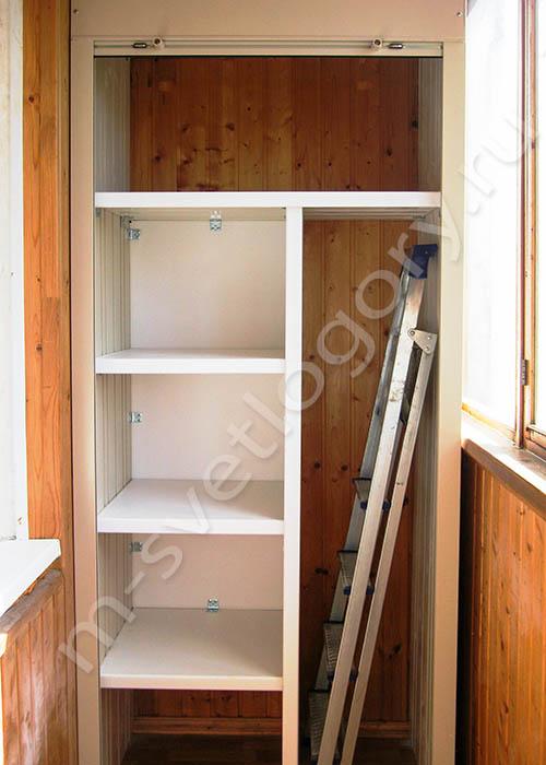 Шкаф на балкон и лоджию - мебель светлогоры.