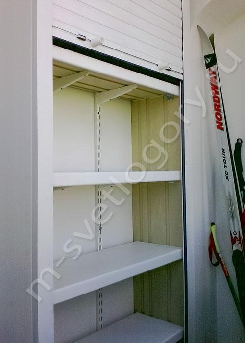 Шкафы и тумбы с рольставнями. фото примеры готовых шкафов..