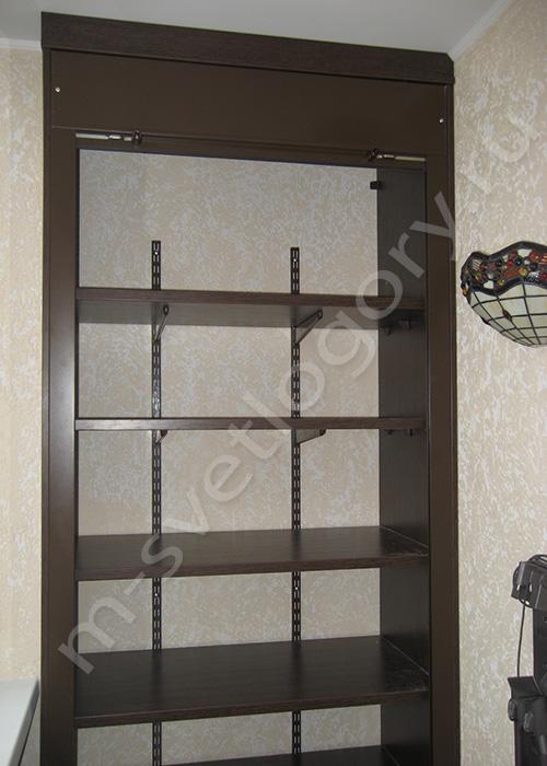 Как сделать шкаф на балконе с рольставнями своими руками