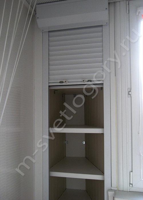 Шкафчики на балконе п 44.