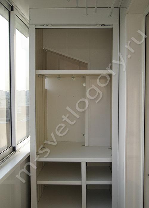 Установка шкафов на балконе п 44. - цены на металлопластиков.